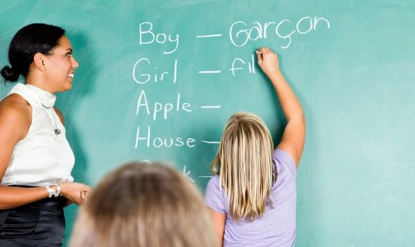 bilingual blackboard