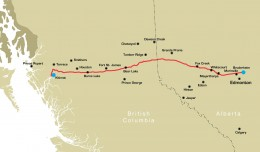 northern pipeline map